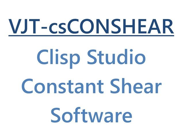 Clisp Studio Constant Shear Software Module